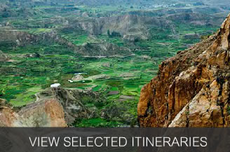 Our Selected Itineraries for Colca Canyon